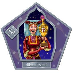 Alberta Toothill  #87  Argento