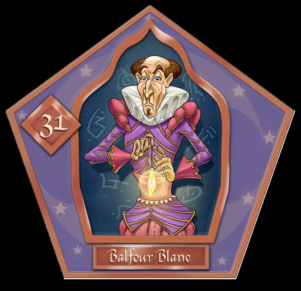 Balfour Blane  #31  Bronzo
