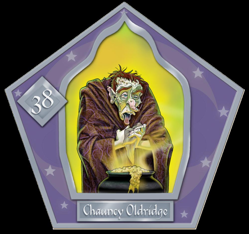 Chauncey Oldridge  #38 Argento