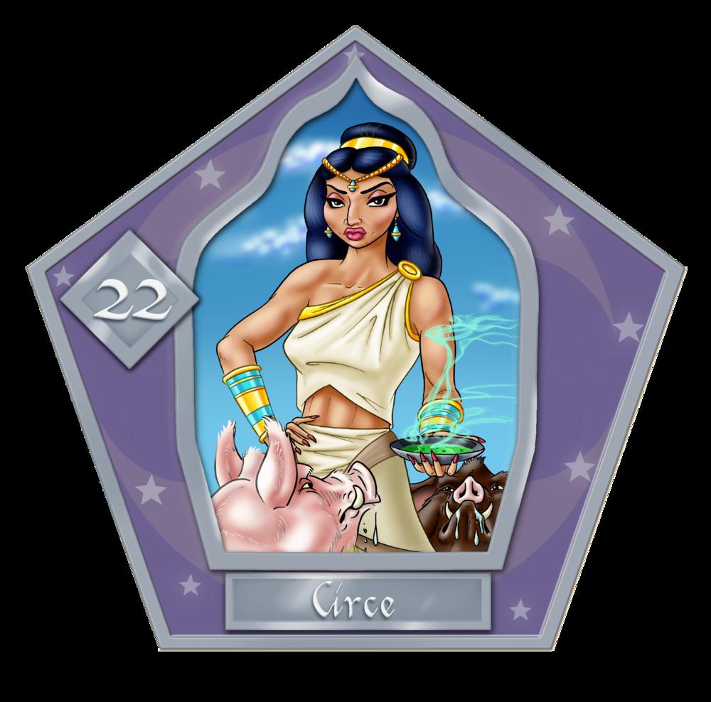 Circe  #22 Argento