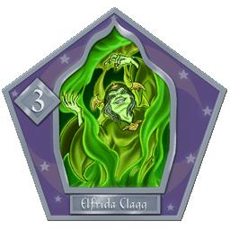 Elfrida Clagg  #3 Argento
