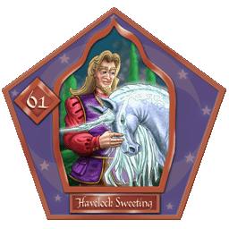 Havelock Sweetingr #61 Bronzo