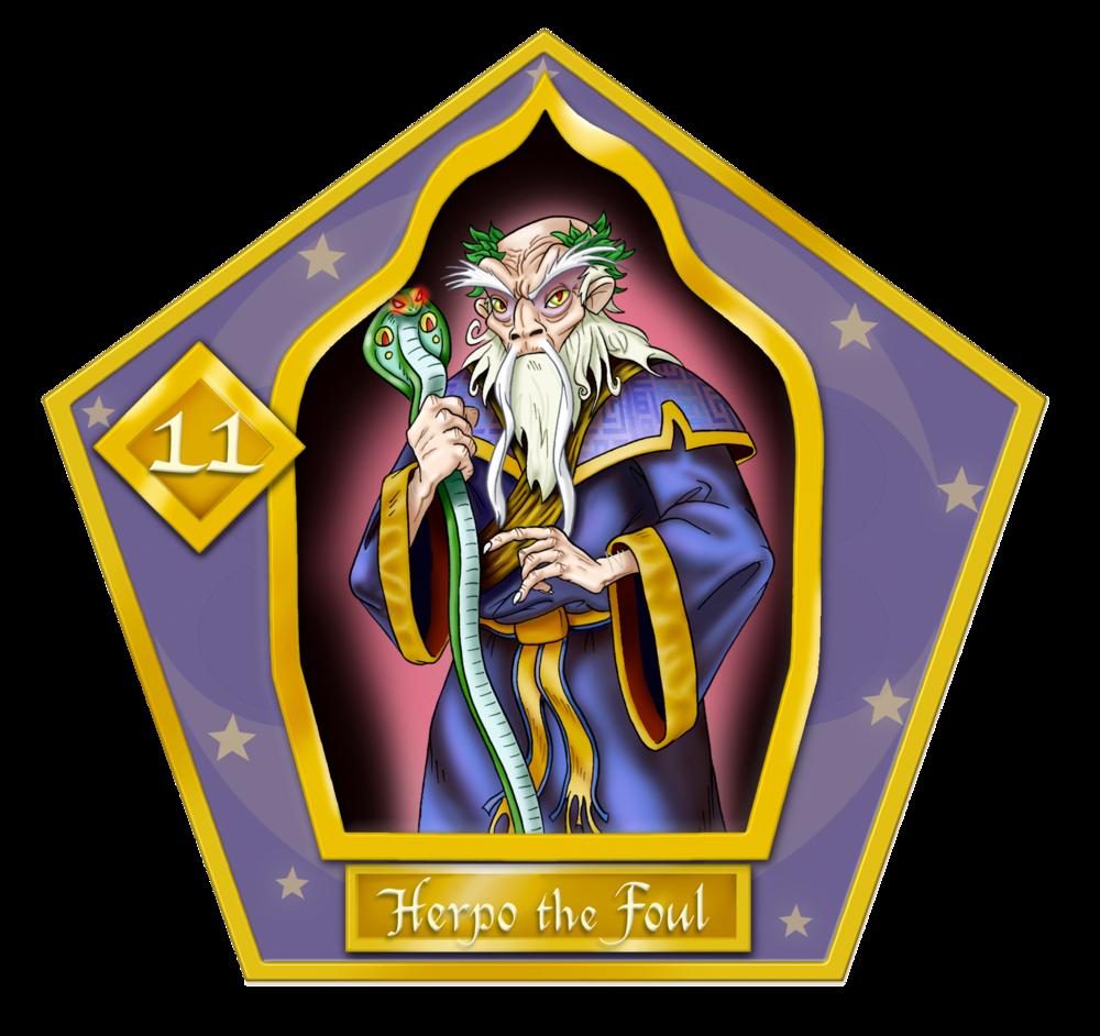 Herpo the Foul #11 Oro