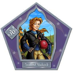 Joscelind Wadcock #36 Argento