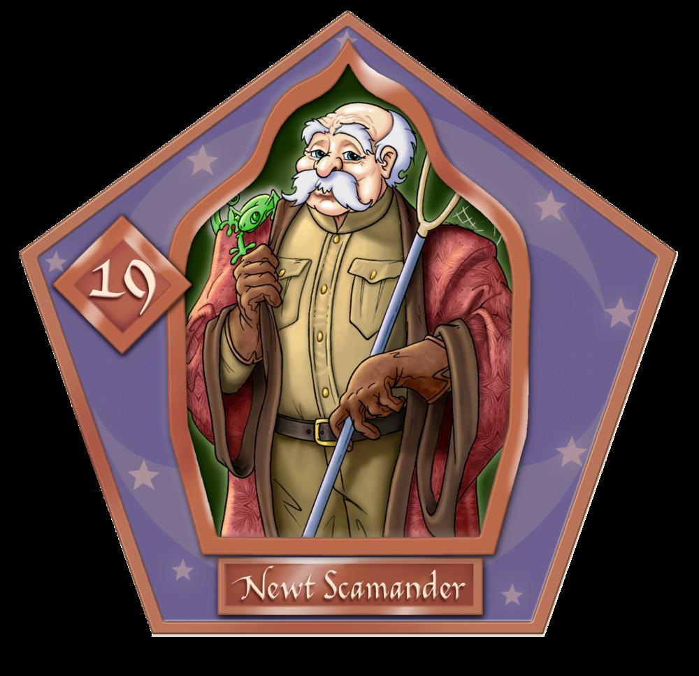 Newton Newt Artemis Fido Scamander #19 Bronzo